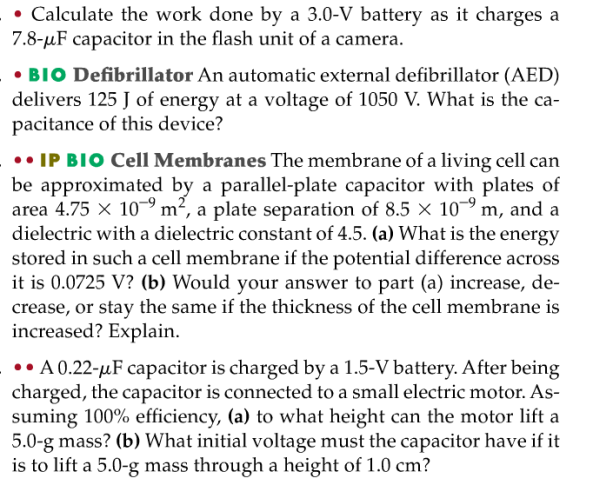 capacitor energy