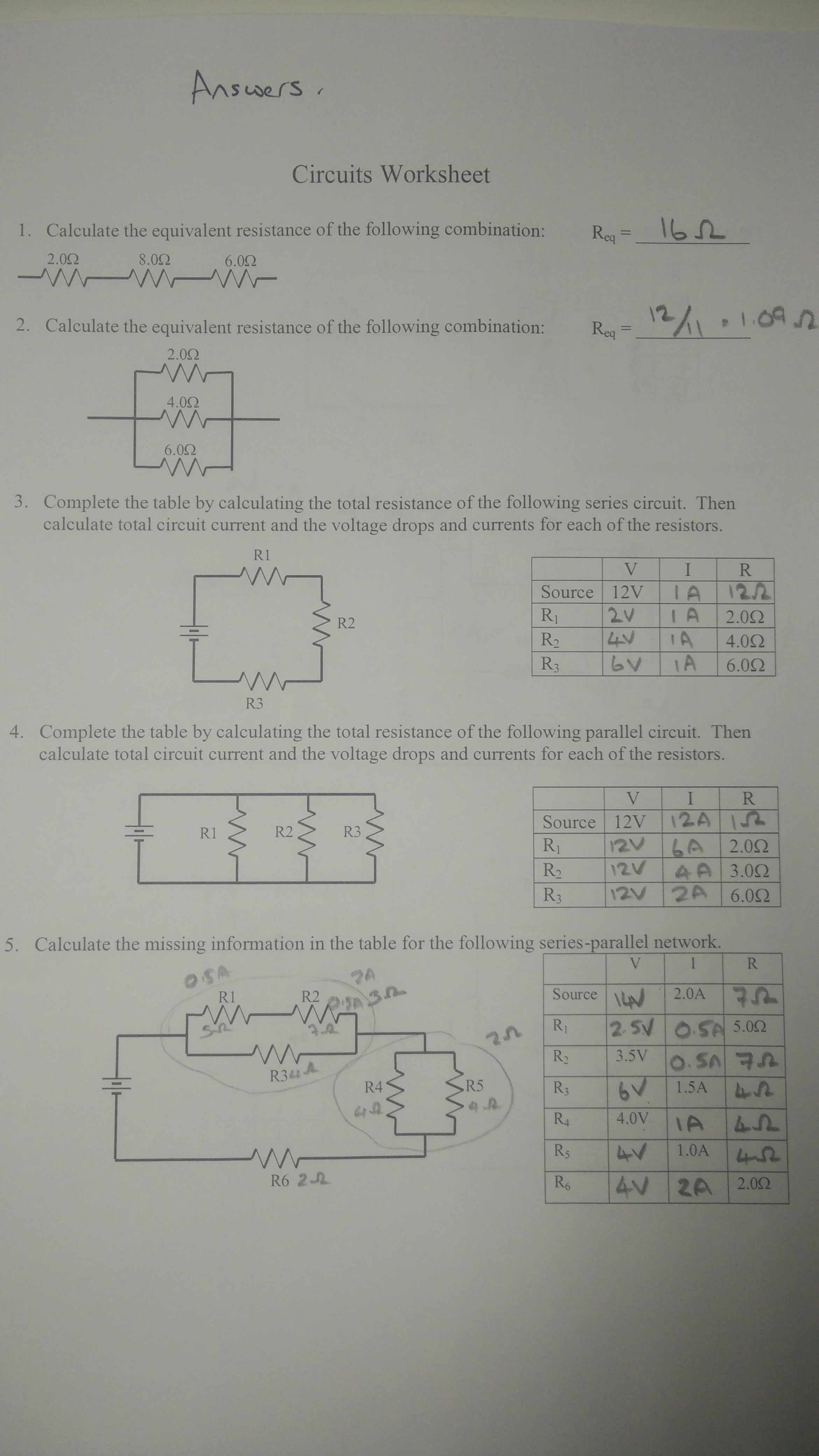 M5 Electric Circuits Homework Answers Physicsbcceip Series Parallel Part 5 Solving For Current Voltage And 2