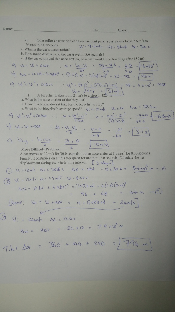 M4 kinematics 2